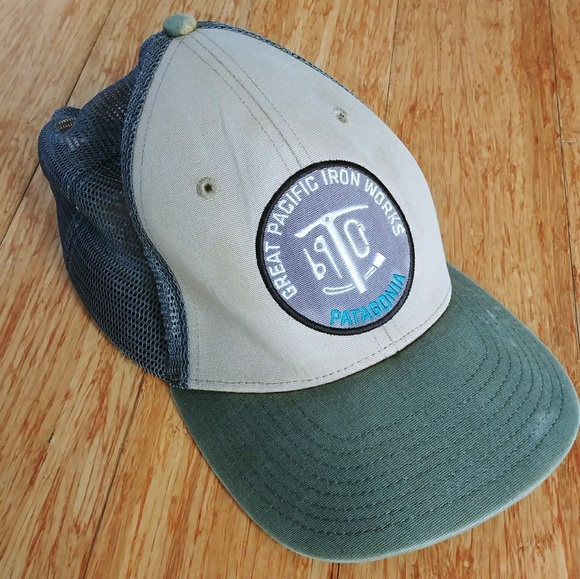 Patagonia Great Pacific Iron Works Trucker Hat. M 5b15ceec3e0caab6d47c2cfc 39354b3e239